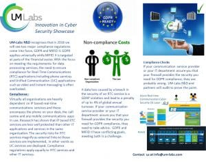 UM-Labs R&D will be supporting the UK Department of