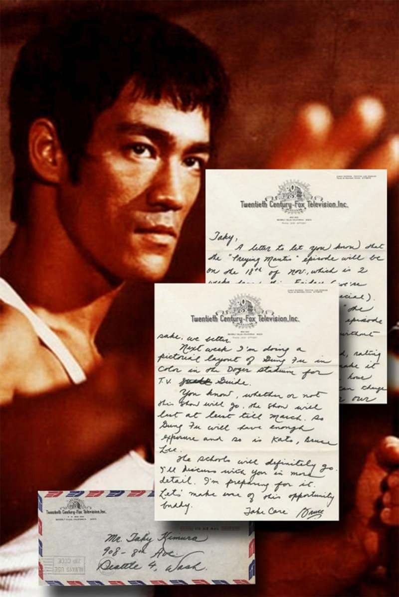 Items signed by Bruce Lee, Albert Einstein, Al Capone, many othe
