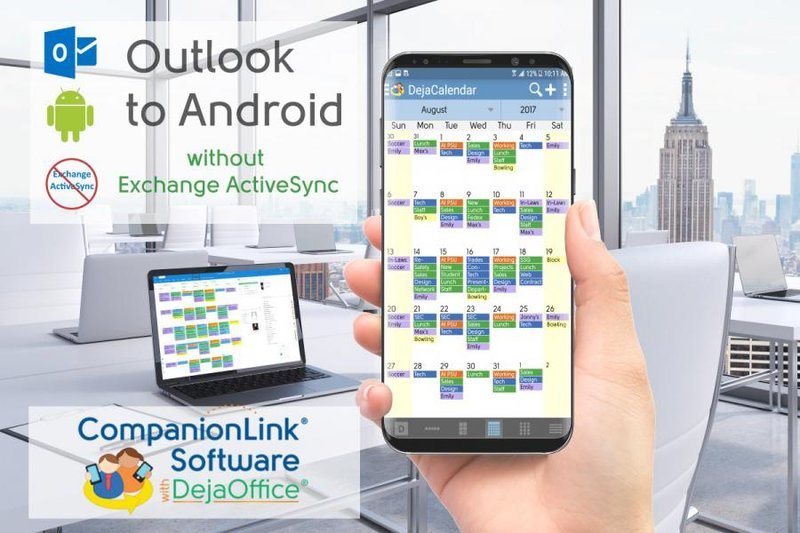 CompanionLink rated Best Paid Android Outlook Sync of 2019