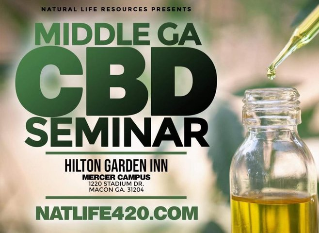 Natural Life Resources CBD presents Middle Georgia's 1st