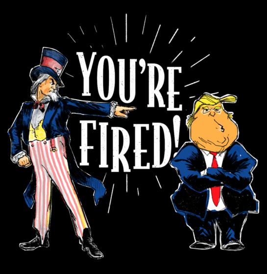 You're fired คุณถูกไล่ออก